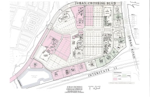 Juban Crossing Site Plan |Denham Springs La